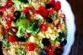 Insalata di cous cous e broccoli
