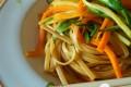 Linguine integrali alle verdure