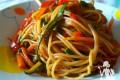 Spaghetti integrali colorati
