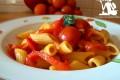 Pennette pomodori e peperoni