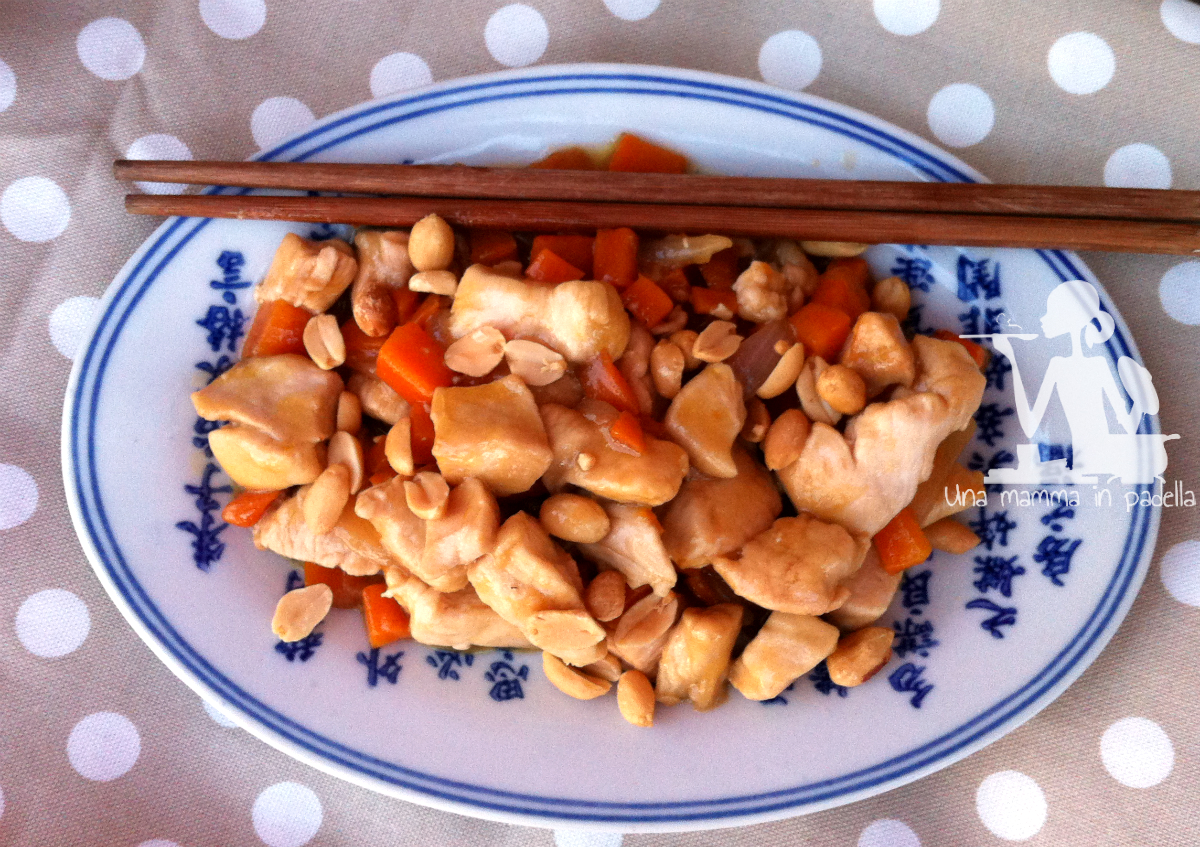 Pollo alle arachidi