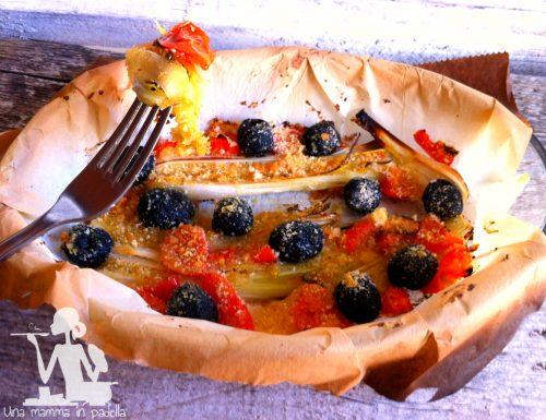 Cipollotti al forno con pomodorini