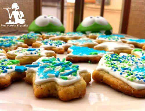 Biscotti di natale con zucchero di canna
