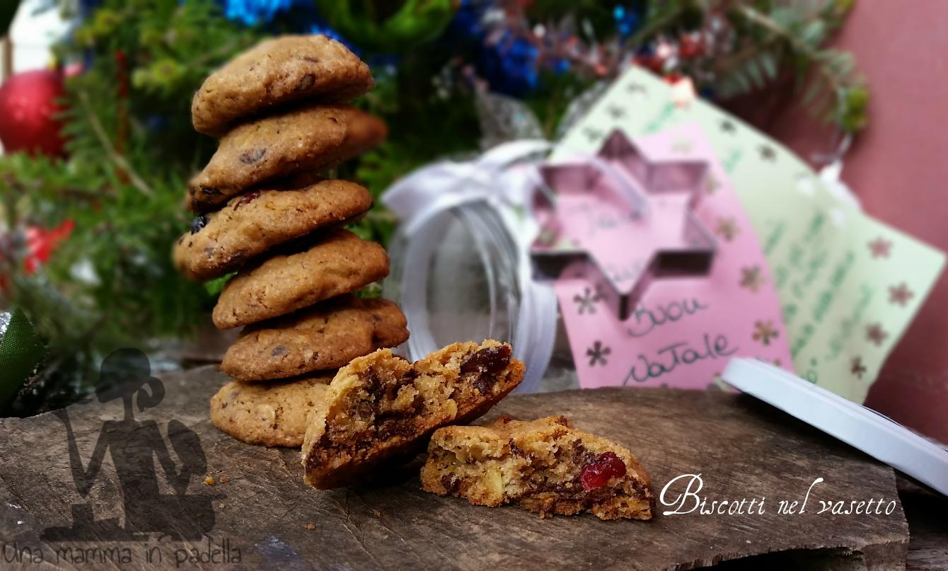 Biscotti nel vasetto