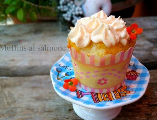 Muffins al salmone