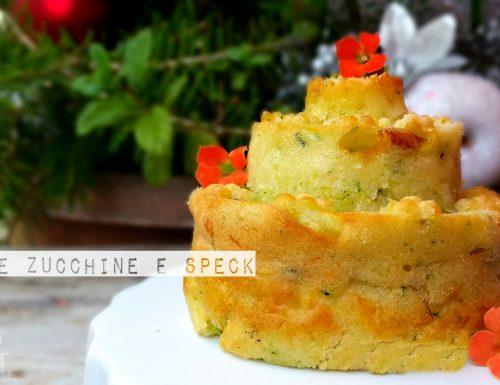 Tortine zucchine e speck