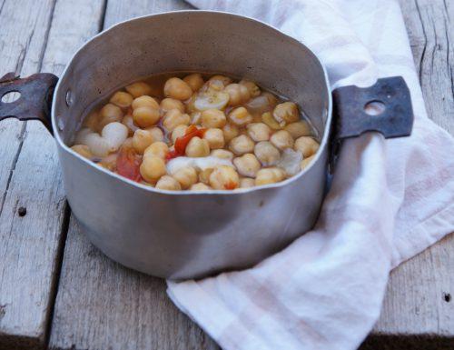 Ceci nel coccio – ricetta antica