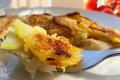 Filetti di merluzzo con patate croccanti