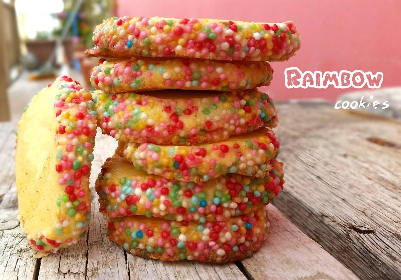 Raimbow cookies