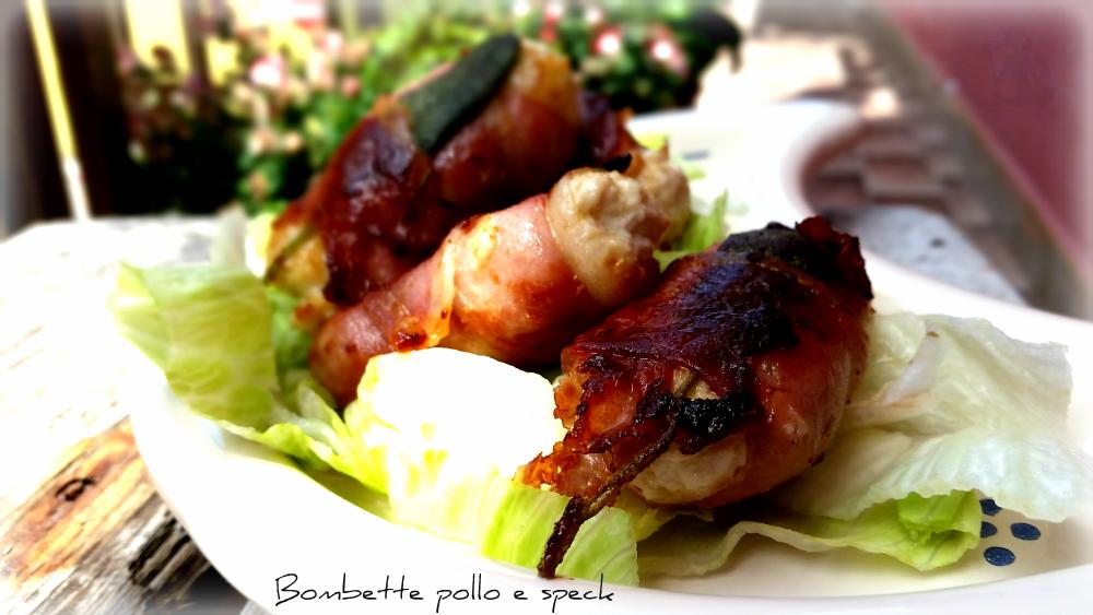 Bombette pollo e speck