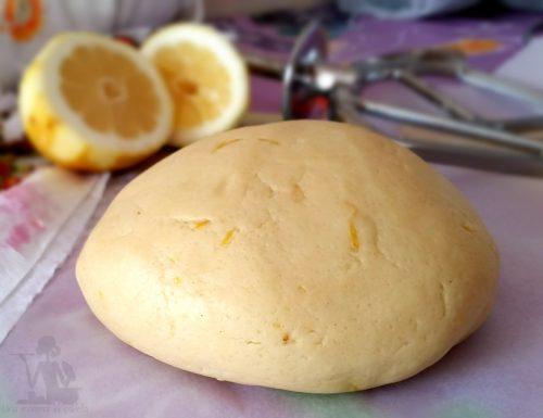 Frolla con succo di limone