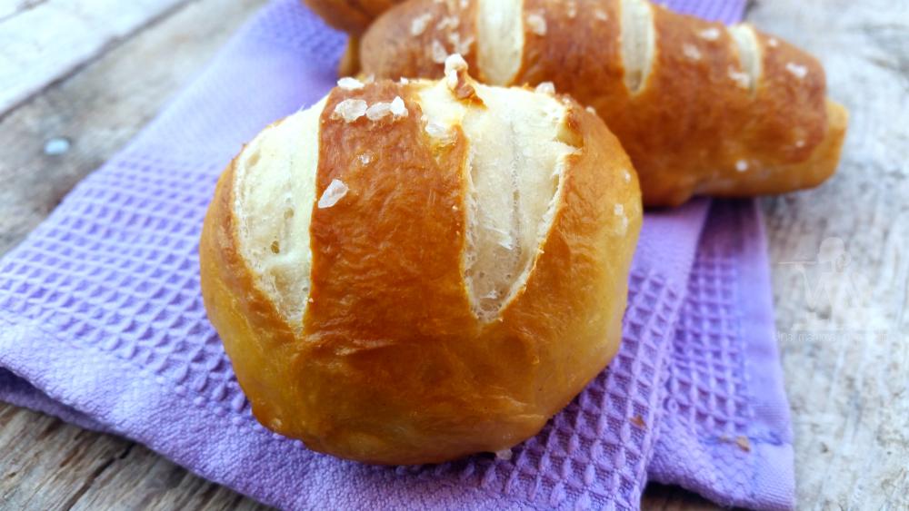 Laugenbrot – panini pretzel