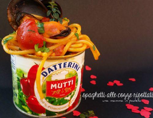 spaghetti alle cozze risottati