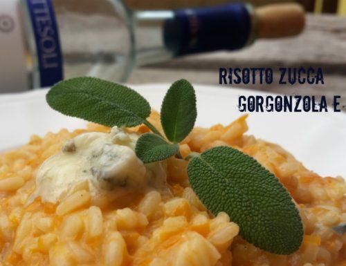 Risotto zucca gorgonzola e noci