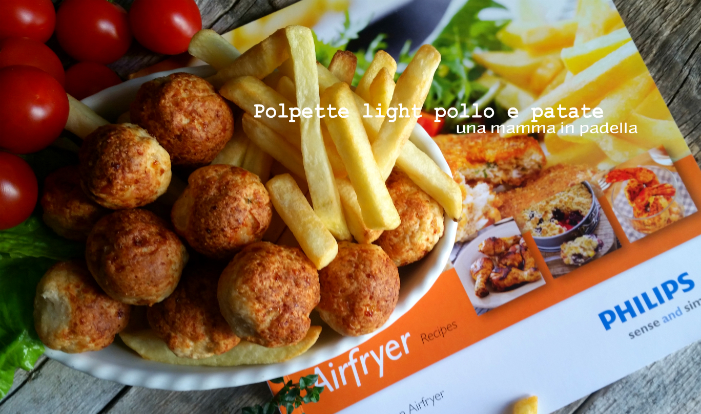 Polpette light pollo e patate