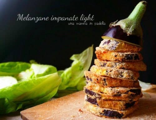 Melanzane impanate light
