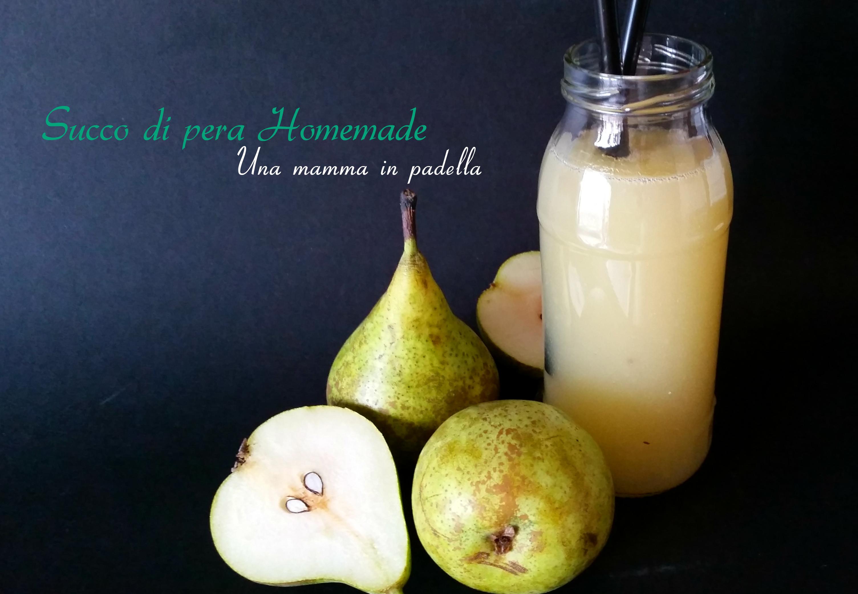 Succo di pera homemade