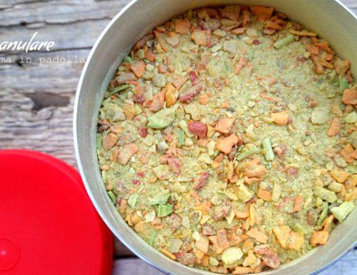 Dado granulare homemade