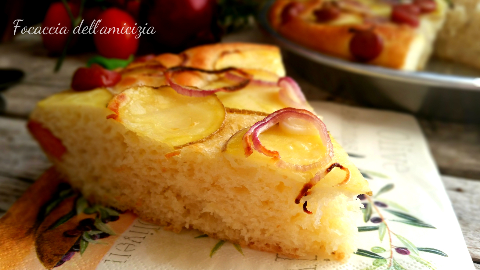 raccolta con le patate torte salate