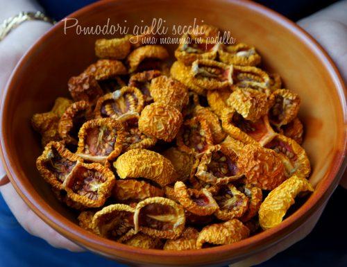 pomodori gialli secchi