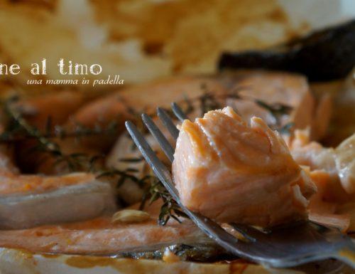 salmone al timo