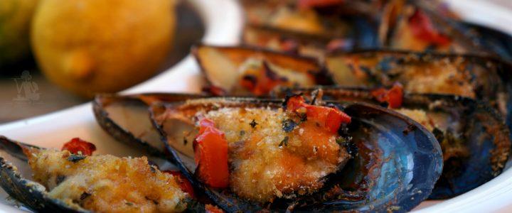 Cozze gratinate – ricetta semplice