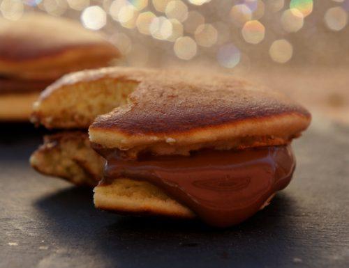 dorayaki alla nutella ricetta semplice