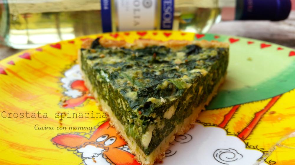 Crostata con spinaci
