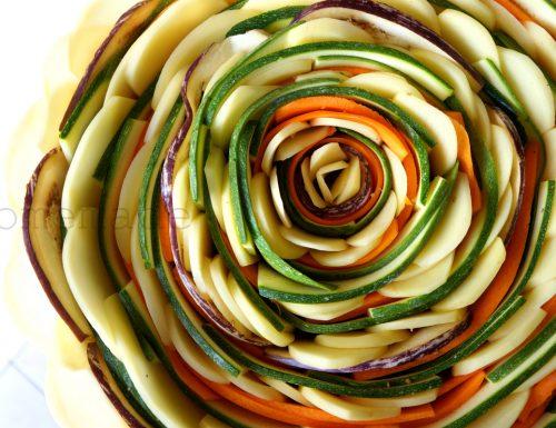 Girandola di verdure miste