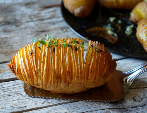 patate hasselback al parmigiano