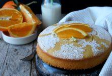 Torta arancia e acqua