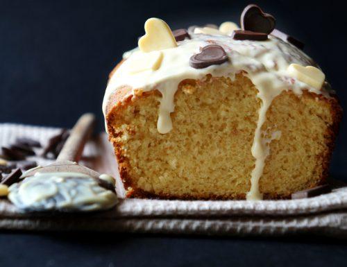 Plumcake cioccolato bianco