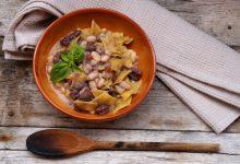 malfatti fagioli e salsiccia
