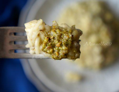 Risotto al pesto di pistacchio
