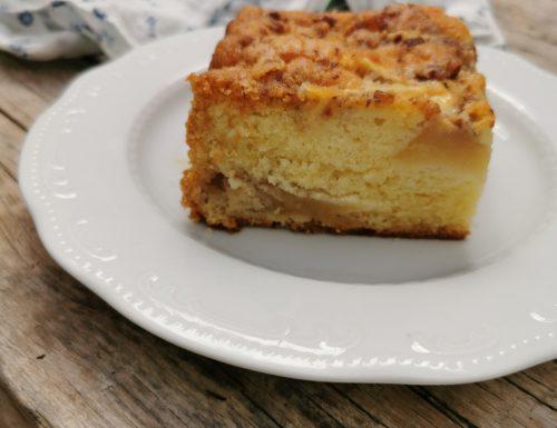 torta di mele senza bilancia