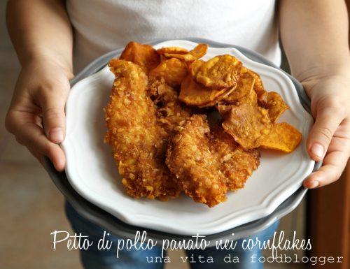 petto di pollo panato nei cornflakes