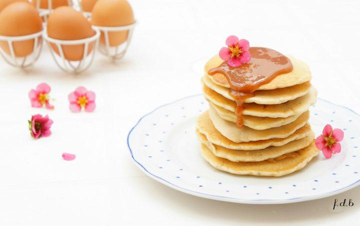 pancake light senza latte e uova