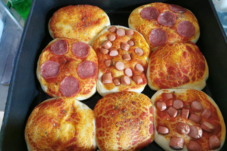 Pizzette morbide e veloci bimby