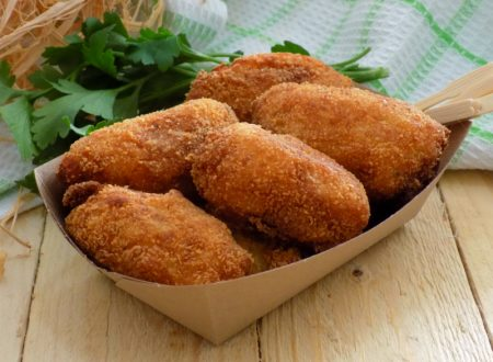 Crocchette di patate al prezzemolo e aglio