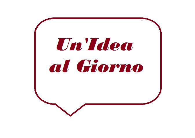 Un'idea al giorno