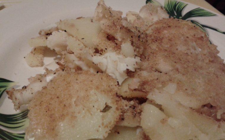 Tortino di merluzzo e patate