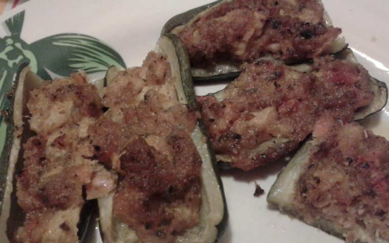 Zucchine ripiene di tonno