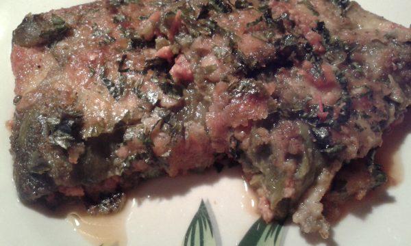Parmigiana di peperoni verdi