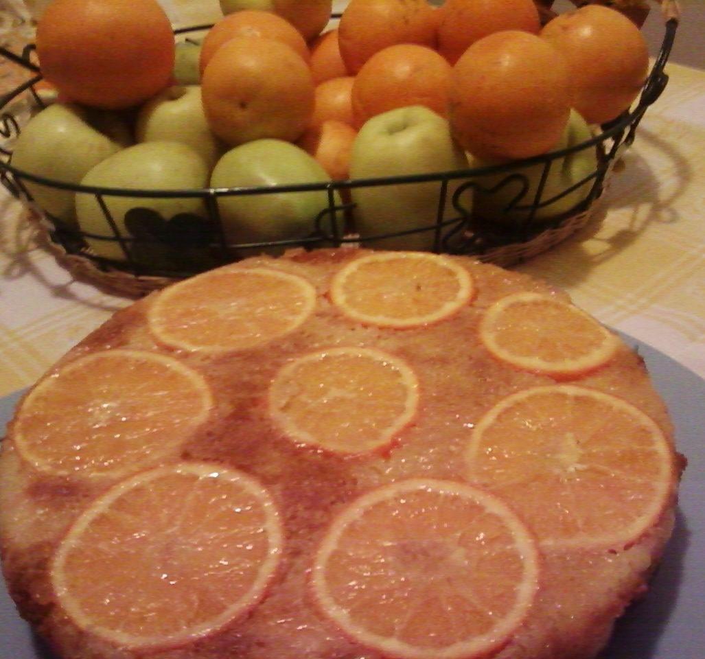 torta alle arance e mela