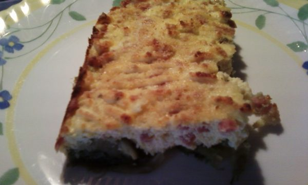 Torta Ricca ai carciofi