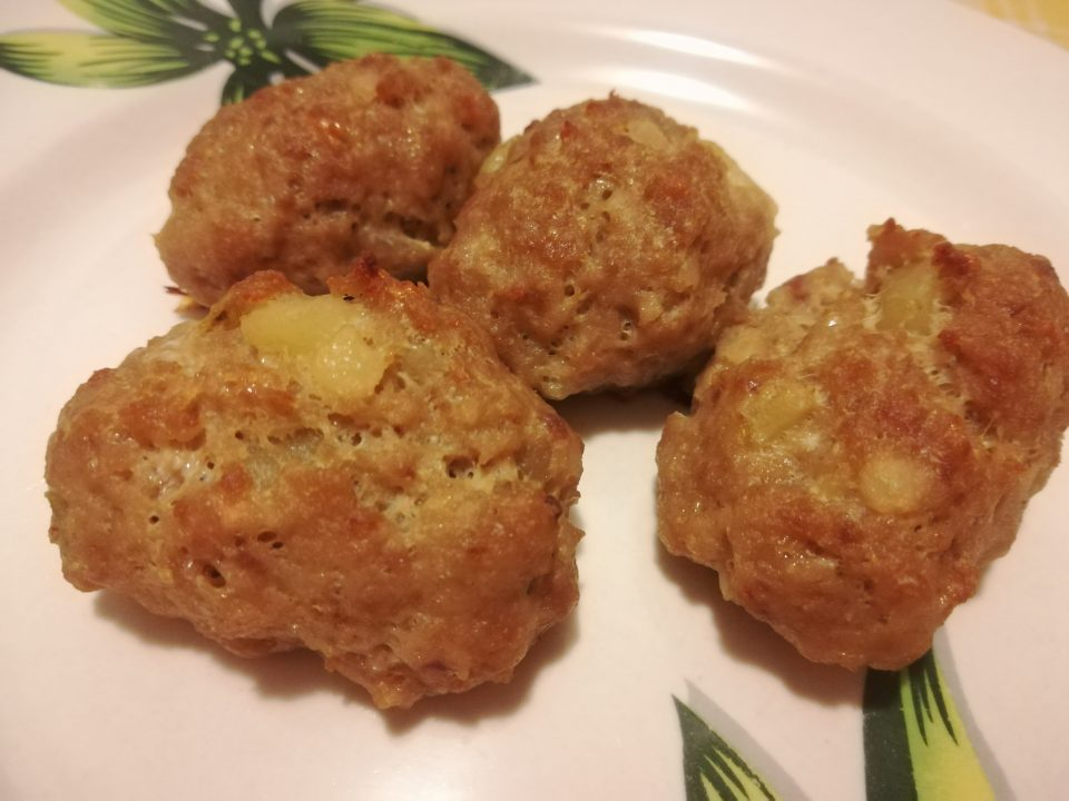 crocchette di carne e patate