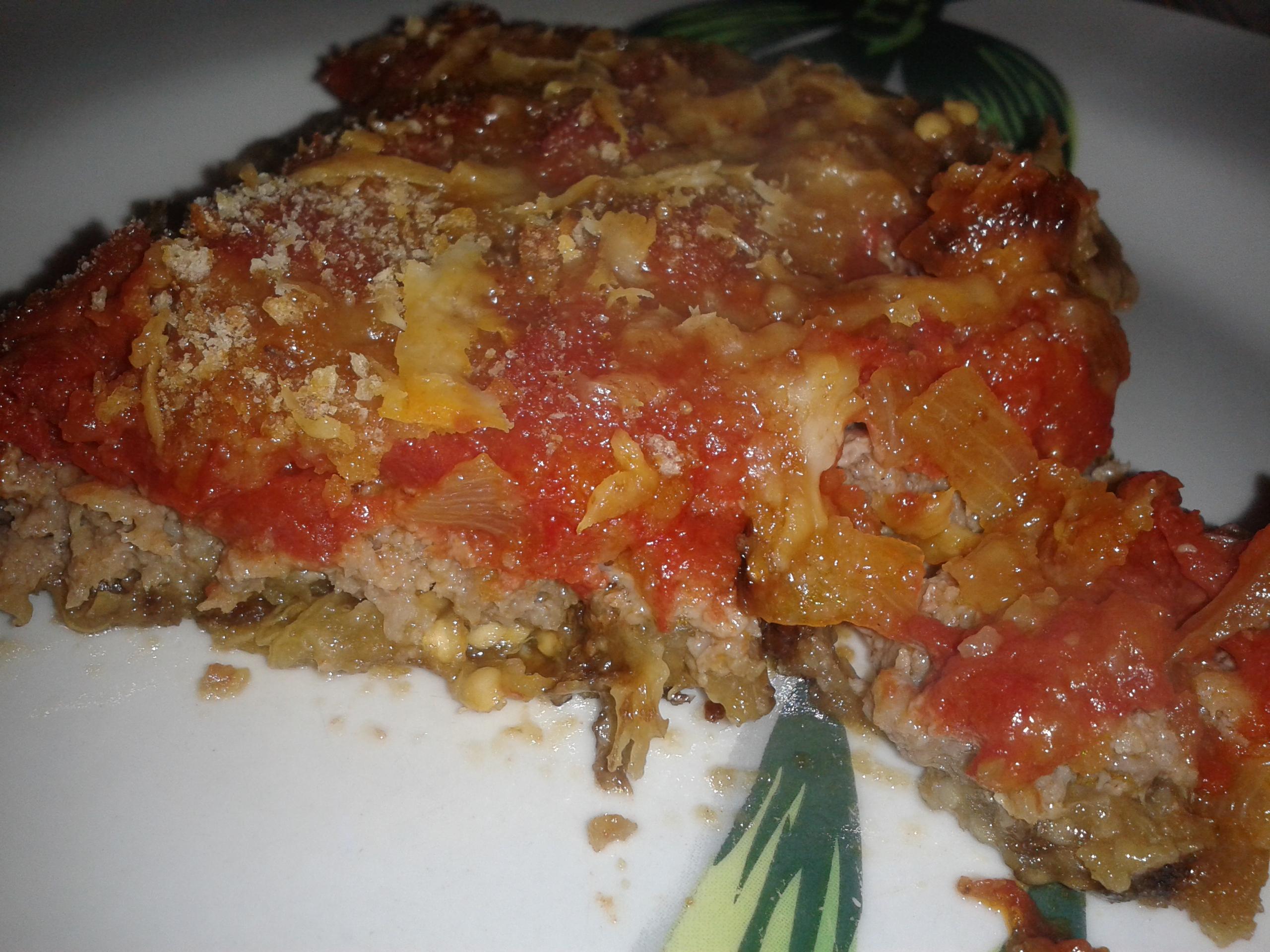 Pizza di carne alla palermitana