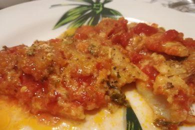 Filetti di merluzzo alla palermitana