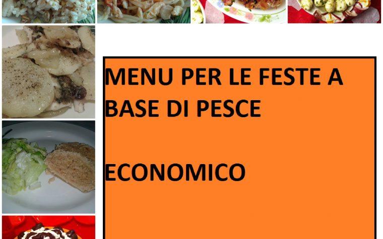 Menu per le feste a base di pesce (economico)