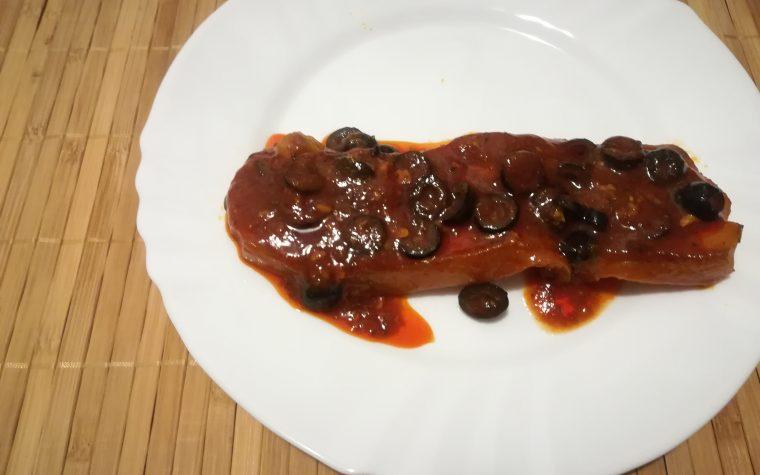 Costine di maiale alle olive